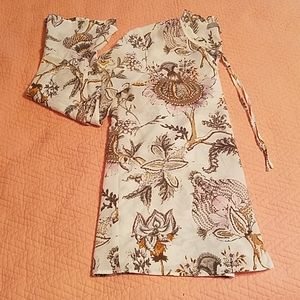 Dalia Floral Bell Sleeve Blouse